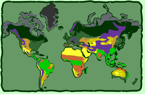 Interactive Biomes of the World, with videos, from thewildclassroom.com