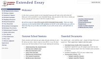 MrT's Extended Essay GoogleSite