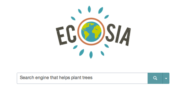 Try Ecosia now. You can add it as a Chrome extension, too.